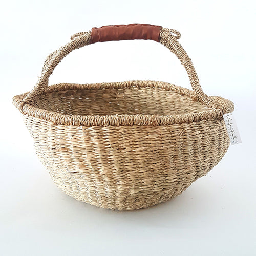 Boho Market Basket - Natural