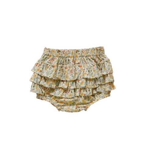 Two Darlings Honey Floral Ruffle Bum Bloomers