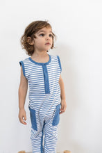 Load image into Gallery viewer, Ocean Stripe Sleeveless Suit