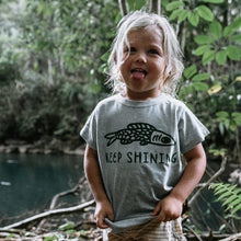 Load image into Gallery viewer, Children of the Tribe - Keep Shining Tee
