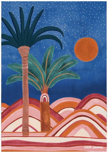 Karina Jambrak Dunes Under Starry Skies Print - Various Sizes