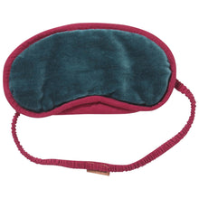 Load image into Gallery viewer, Kip & Co Eye Mask - Green Sea Velvet