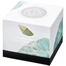 Load image into Gallery viewer, Summer Salt Body Crystal Soap - Aquamarine