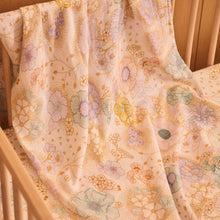 Load image into Gallery viewer, Banabae Organic Cotton Swaddle - Apple Blossom