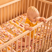 Load image into Gallery viewer, Banabae Hemp/Organic Cotton  Fitted Cot Sheet - Bountiful