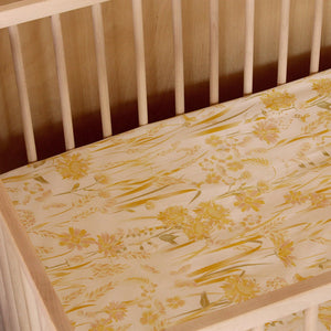 Banabae Hemp/Organic Cotton Fitted Cot Sheet - Goldfields