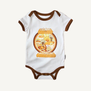 Banabae Organic Cotton Onesie - Rainbow Connection