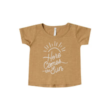 Load image into Gallery viewer, Rylee + Cru - Here Comes the Sun - Basic Tee