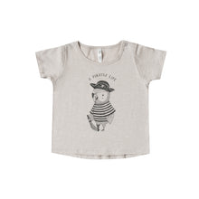Load image into Gallery viewer, Rylee + Cru - Pirate Parrot Basic Tee - Sand