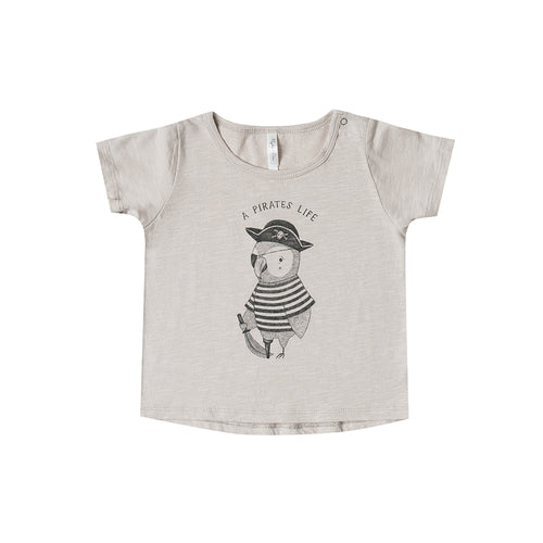 Rylee + Cru - Pirate Parrot Basic Tee - Sand