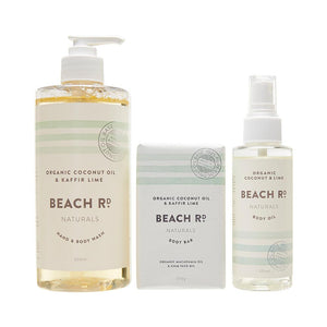 Beach Rd Naturals- Gift Box- Body Wash