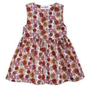 Bonnie & Harlo - Farah Dress Retro Print