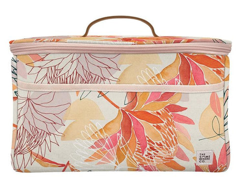 The Somewhere Co. Brushed Protea Midi Cooler Bag