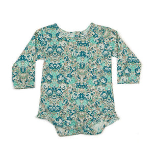 Children Of The Tribe - Evergreen Frill Romper