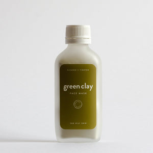 Courtney + Babes - Green Clay Face Mask 100g