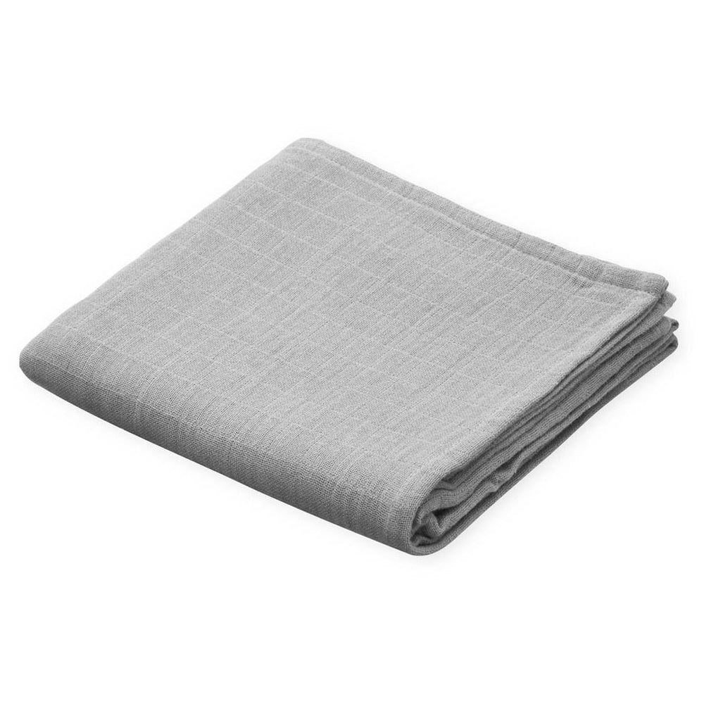 Organic Muslin Cloth- Grey