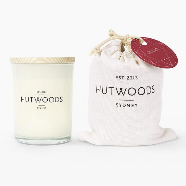 Hutwoods Medium Candle - Spiced Orange, Nutmeg, & Clove