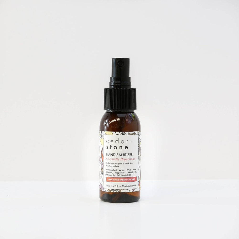 Cedar & Stone- Coconutty Peppermint Hand Sanitiser