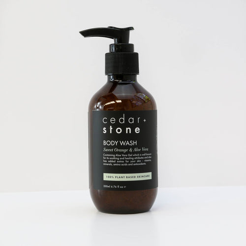 Cedar & Stone- Sweet Orange & Aloe Vera Body Wash