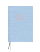 Load image into Gallery viewer, Chambray Linen Floral Agenda 2019
