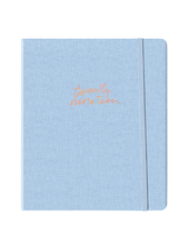 Load image into Gallery viewer, Chambray Linen Weekly Planner