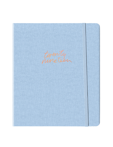 Chambray Linen Weekly Planner