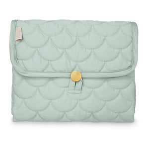 Cam Cam Quilted Changing Mat - Misty Green