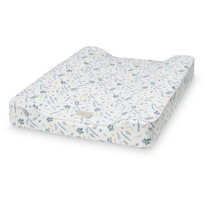 Cam Cam Changing Cushion - Pressed Leaves Blue