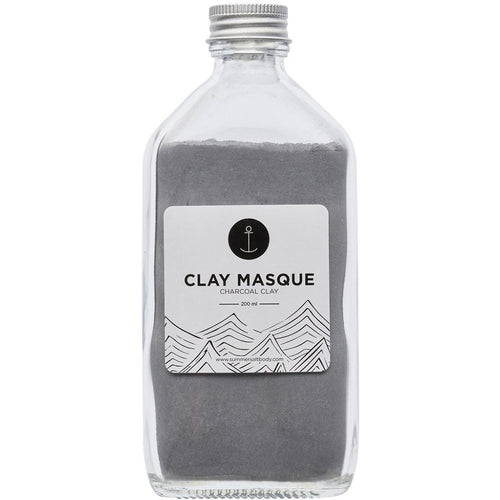 Summer Salt Body Activated Charcoal Clay Masque - 200ml