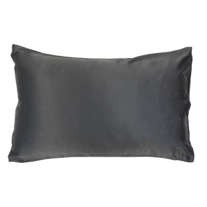The Goodnight Co - Silk Pillowcase - Charcoal