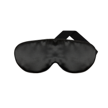 Load image into Gallery viewer, The Goodnight Co. Silk Eye Mask - Charcoal