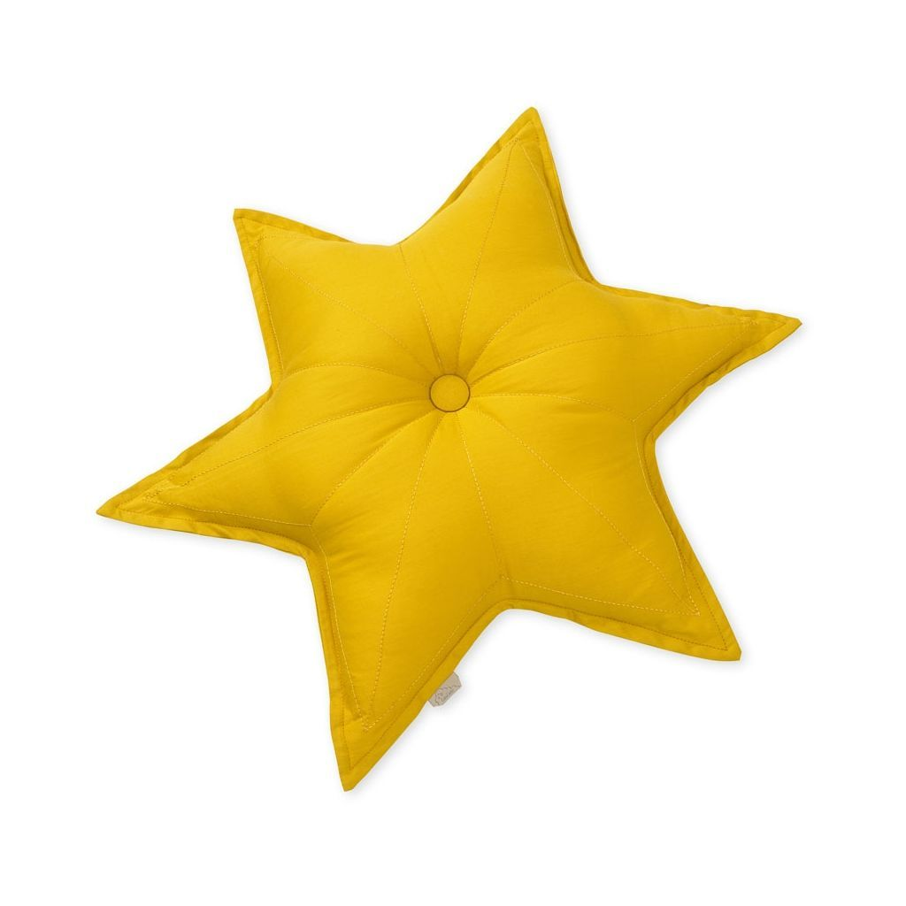 Cam Cam Star Cushion - Mustard