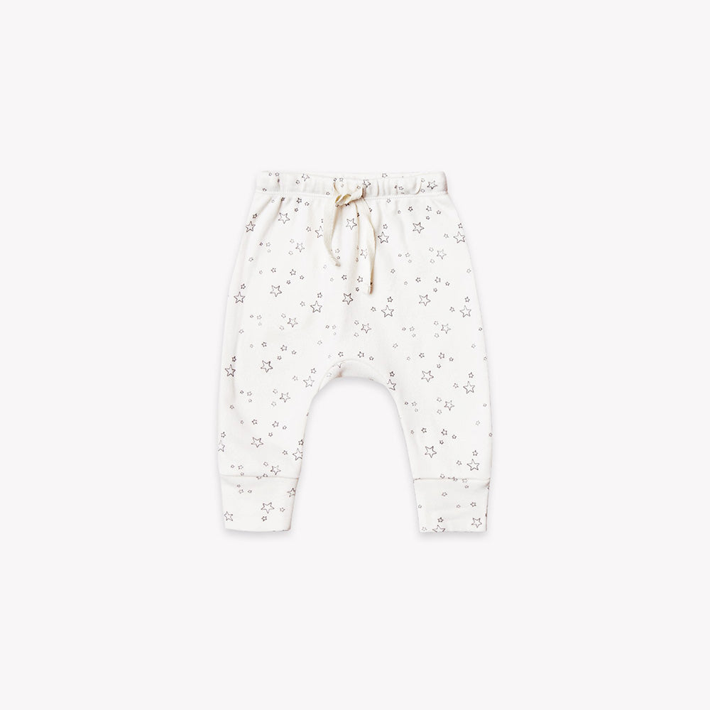 Quincy Mae- Drawstring Pants - Ivory