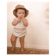 Load image into Gallery viewer, Fini Terry Bucket Hat - Tan
