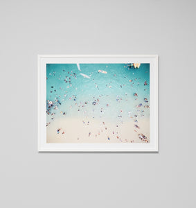 Framed Print- Blue Tide 2