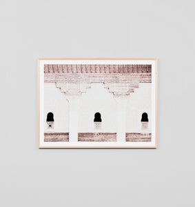 Framed Print- Blush Windows