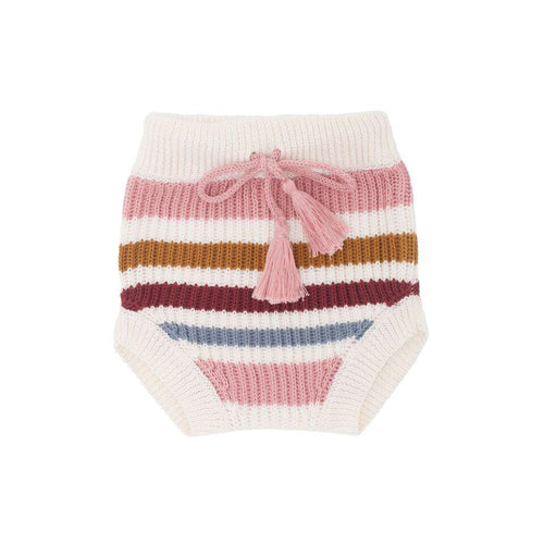 Harlem Stripe Bloomer- Pink