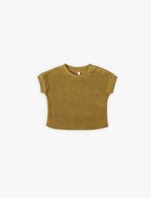 Load image into Gallery viewer, Quincy Mae Gemma S/S  Tee - Ochre