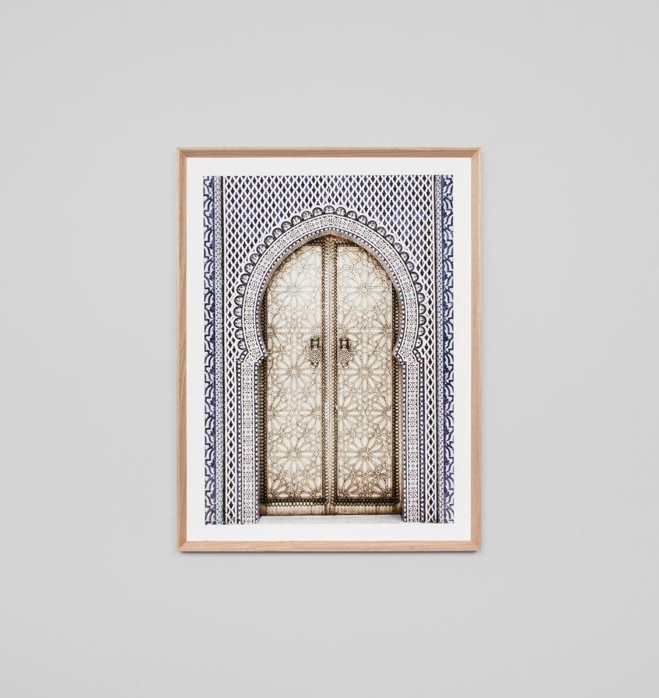 Framed Print- Golden Door