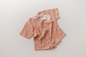Illoura The Label Wilder Overalls - Terracotta