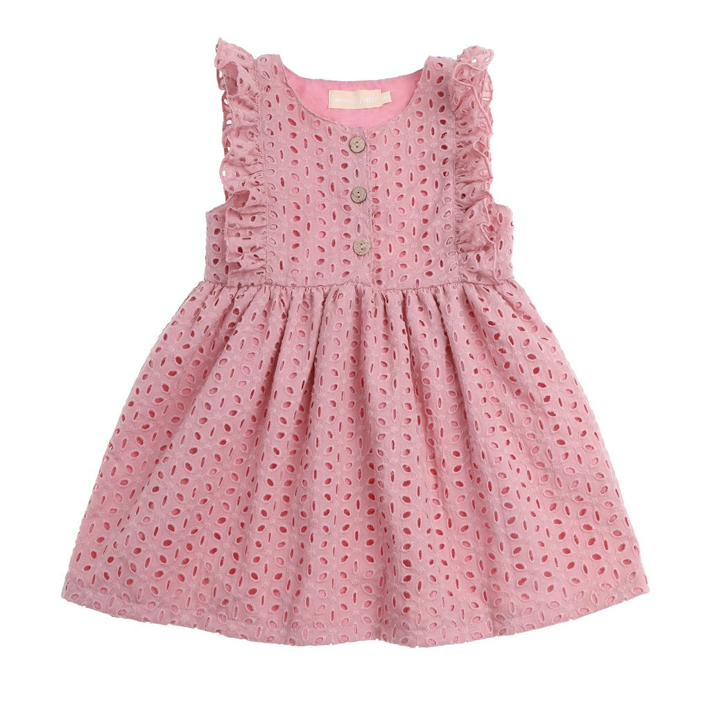 Bonnie & Harlo Bonnie Dress - Blushing