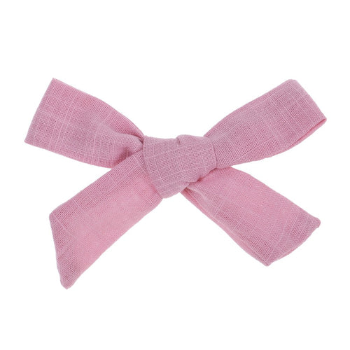 Bonnie & Harlo Bow Clip - Pink
