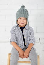 Load image into Gallery viewer, Miann & Co - Chunky Rib Beanie - Sage