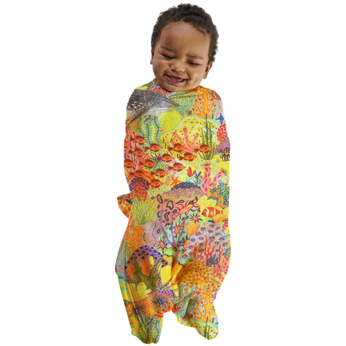 Kip & Co Snorkel Bamboo Baby Swaddle