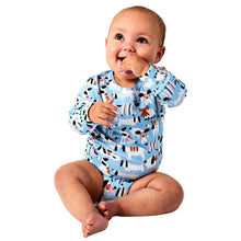 Load image into Gallery viewer, Kip & Co Sir Fred Organic LS Romper