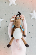Load image into Gallery viewer, Miann & Co- Mickey Moose Soft Toy