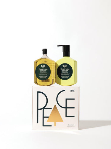 Leif Products - Limited Christmas Edition Body Double 'PEACE' Desert Lime 260ml