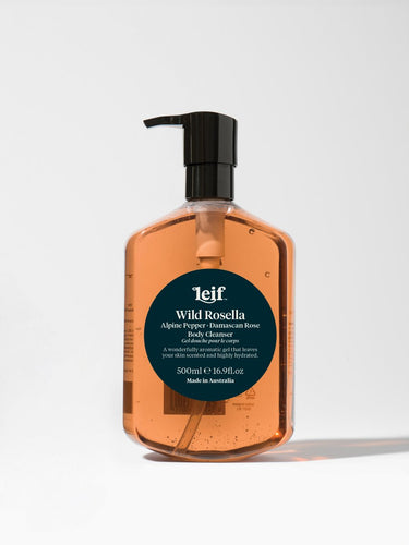 Leif Products Wild Rosella Body Cleanser 500ml