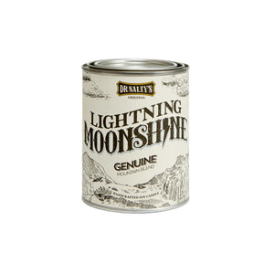 Dr Salty Lightning Moonshine Soy Wax Candle