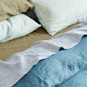 Sage & Clare- Lined Fitted Sheet- Moss